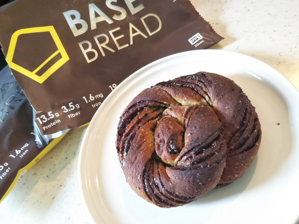 base bread chocolate
